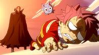 Gildarts beats little Natsu