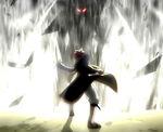 Gildarts intimidates Natsu