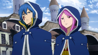 Jellal and Meredy look for Ultear