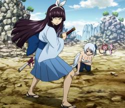 Kagura rescata a Yukino
