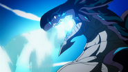 Acnologia readying his Dragon Roar