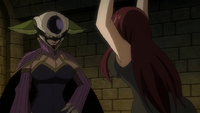 Erza asks about Mirajane