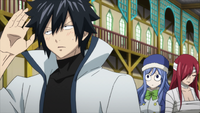Gray's worries for Natsu