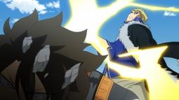 Laxus aparece para pelear con Wahl
