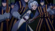Yukino sendo capturada