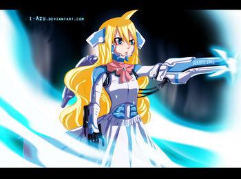 Mavis Vermilion Cyborg by i-azu