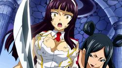 Minerva Apuñala a Kagura