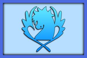 Blue Pegasus Banner