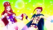 Erza and Aceto dancing