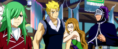 Freed llorando cuando Gildarts nombre a Laxus miembro del gremio