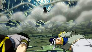 Sting y Rogue derrotados