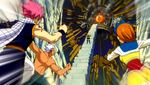 Natsu Elfman y Coco vs Imitatia