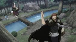 Natsu y Happy se Despiden de Gildarts