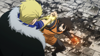 Wahl defends against Laxus