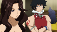 Cana and Mest listen on