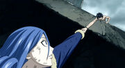 Gray saves Juvia-1-