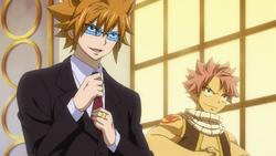 Loke y Natsu se disponen a luchar contra el ejercito