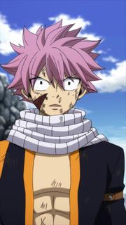 Natsu's reaction to his true identity