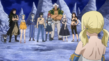 Los Magos de Fairy Tail se Reúnen Con el Resto del Equipo