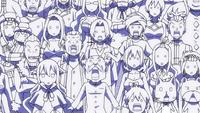 Fairy Tail's reaction to Nichiya