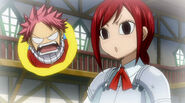 First time when Erza hears no