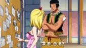 Nab talks to Lucy
