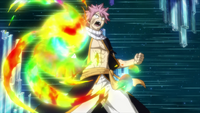 Natsu receives the power
