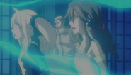 Zera watches Tenrou Jade's effects