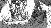 Azuma convertido en un árbol