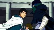 Doranbolt appears in front of Jellal