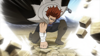 Gildarts crushes the ground