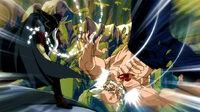 Hades uses his magic to attack Makarov