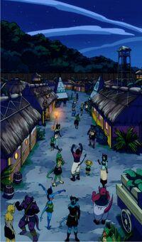 Restored Village