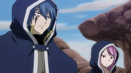 Jellal and Meredy arrive