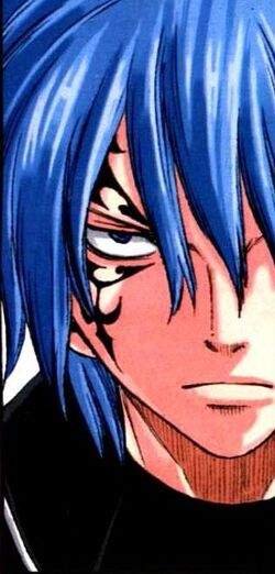 Jellal during activation of Nirvana