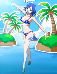 Juvia at Miss Fairy Tail Contest