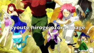 Fairy tail ending 10 lyrics