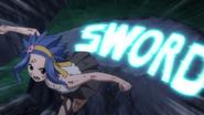 Levy's Solid Script Sword