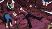Natsu Dragion exhausted