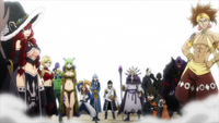 Spriggan 12 and Zeref in Opening 24