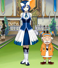 Juvia joins Fairy Tail