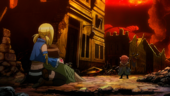 Eclair confronted by Makarov