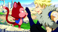 Sting and Lector's high-five