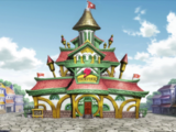 First Fairy Tail Building