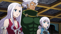 Mirajane, Elfman and Lisanna learn the truth