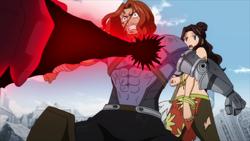 Gildarts protege a su hija del ataque
