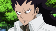 Gajeel's resolve to fight Gray