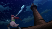 Erza's Wind God's Sword