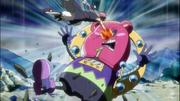 Natsu golpea a Jackpot.