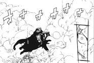 Gildarts after Natsu's attack